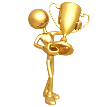And The Blendster Award Goes To on academy award trophy